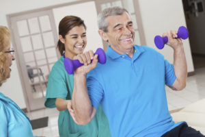 Rehabilitation & Therapy at Park Manor of Conroe nursing home in Conroe, TX.